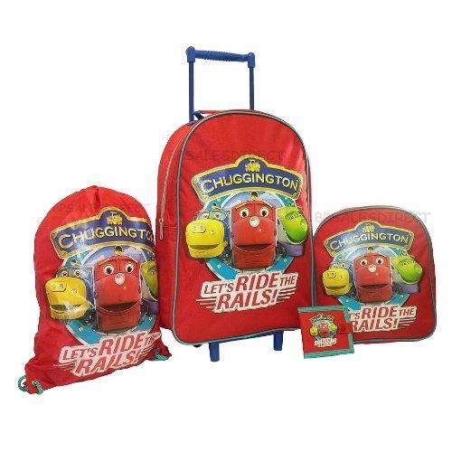 Chuggington 4 Piece Travel Set Luggage Bag