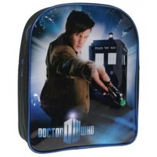 Dr Who Call Box School Bag Rucksack Backpack