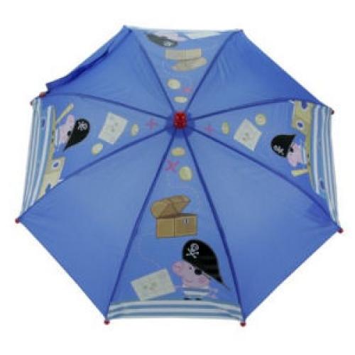 Peppa Pig George School Rain Brolly Umbrella