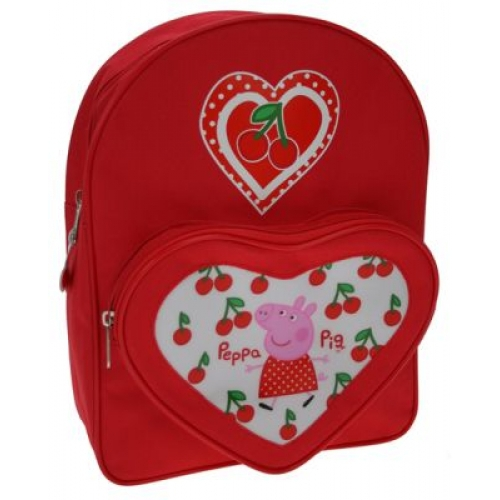 Peppa Pig Cherry School Bag Rucksack Backpack