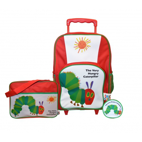 Very Hungry Caterpillar Include Wallet Backpack Swimbag Wheeled Bag Set