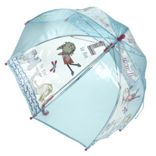 Charlie and Lola School Rain Brolly Umbrella