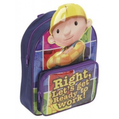 Bob The Builder 'Get Ready To Work' School Bag Rucksack Backpack