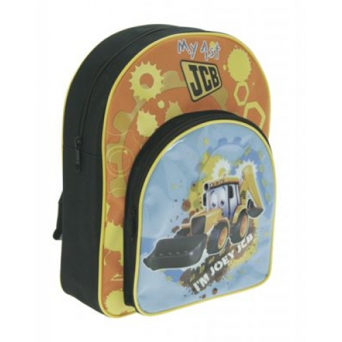 My 1st Jcb I' M Joey School Bag Rucksack Backpack