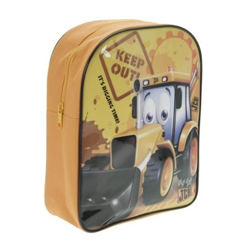 My 1st Jcb Keep Out School Bag Rucksack Backpack