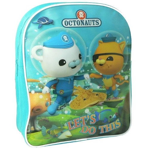 Octonauts 'Let' S Do This' School Bag Rucksack Backpack