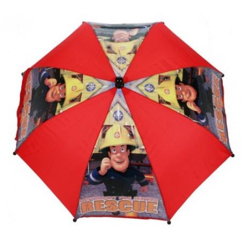 Fireman Sam 'Rescue' School Rain Brolly Umbrella