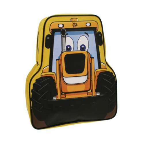 My First Jcb 'Shaped' School Bag Rucksack Backpack