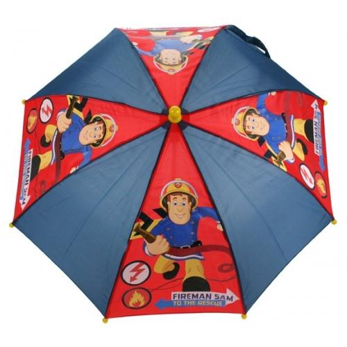 Fireman Sam 'To The Rescue' School Rain Brolly Umbrella