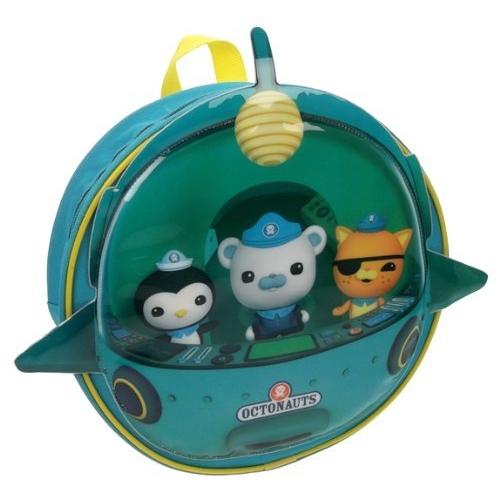Octonauts 'Novelty' Shaped Pvc Front School Bag Rucksack Backpack