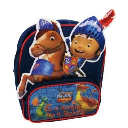 Mike The Knight 'Be a Do It Right' Pvc Front School Bag Rucksack Backpack