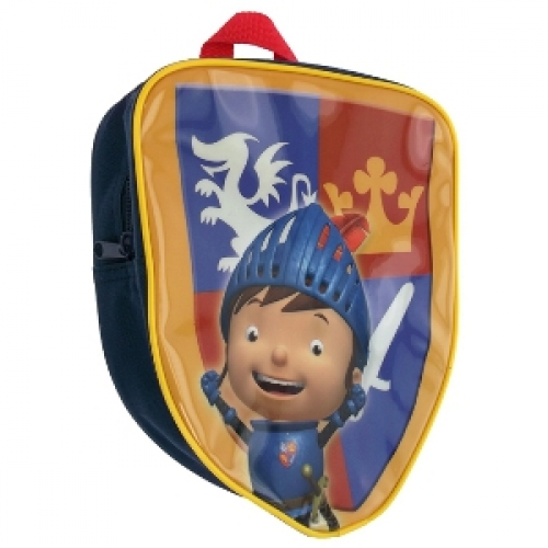 Mike The Knight 'Shield Shaped' School Bag Rucksack Backpack