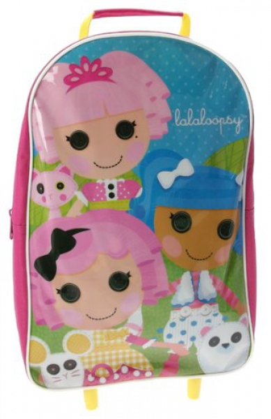 Lalaloopsy 'Friends' School Travel Trolley Roller Wheeled Bag