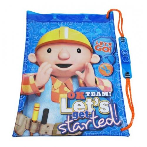 Bob The Builder 'Let' S Go' School Swim Bag