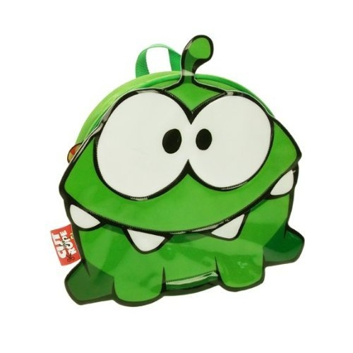 Cut The Rope 'Shaped' Pvc Front School Bag Rucksack Backpack
