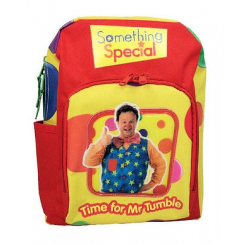 Something Special 'Time For Mr Tumble' Arched School Bag Rucksack Backpack
