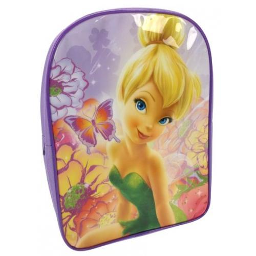 Disney Fairies 'Tinkerbell' Pvc Front School Bag Rucksack Backpack