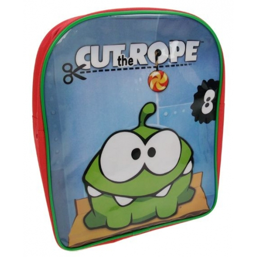 Cut The Rope Pvc Front School Bag Rucksack Backpack