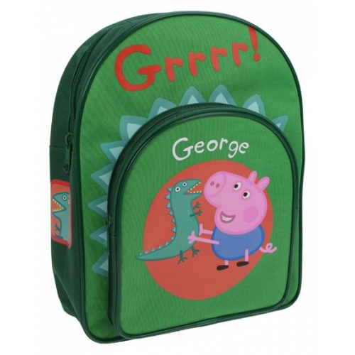 Peppa Pig 'George Dino' School Bag Rucksack Backpack