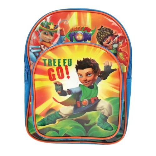 Tree Fu Tom 'Tree Go' Pvc Front School Bag Rucksack Backpack