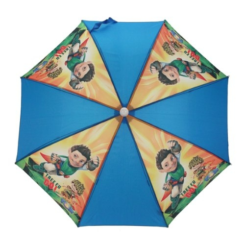 Tree Fu Tom 'Tree Go' School Rain Brolly Umbrella