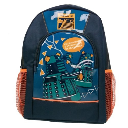 Doctor Who Sports Pvc Front School Bag Rucksack Backpack