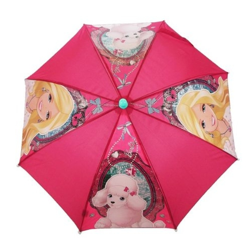 Barbie School Rain Brolly Umbrella