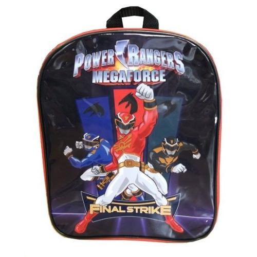 Power Rangers 'Mega Force' Pvc Front School Bag Rucksack Backpack