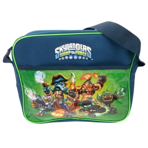 Skylanders 'Swap Force' Pvc Front School Despatch Bag