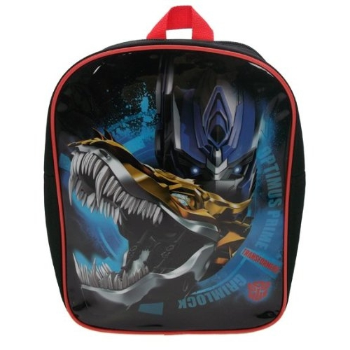 Transformers Pvc Front School Bag Rucksack Backpack