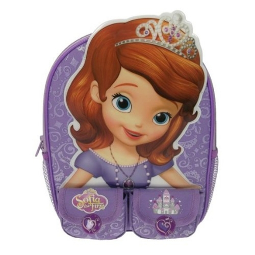 Disney Sofia The First School Bag Rucksack Backpack