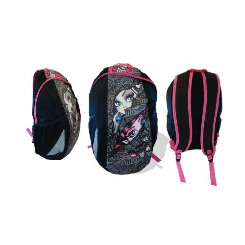Monster High Large New School Bag Rucksack Backpack