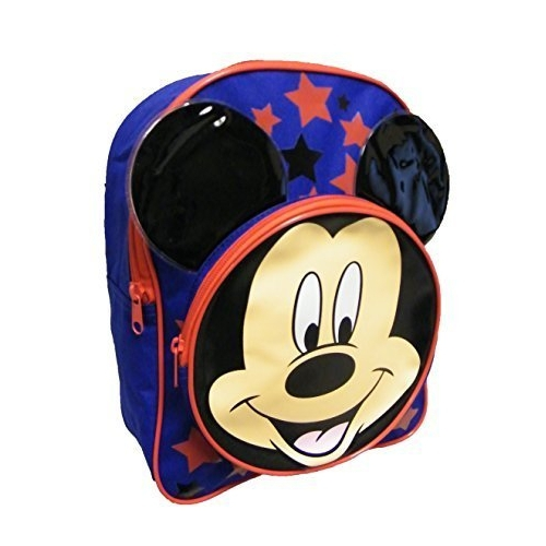 Disney Mickey Mouse with Front Pocket School Bag Rucksack Backpack