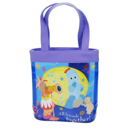 In The Night Garden Pvc Tote Bag Shopping Shopper