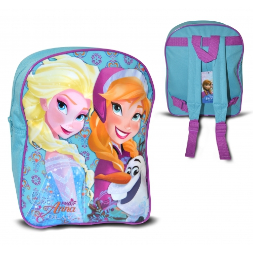 9ca79d82972 Disney Frozen Elsa Anna and Olaf School Bag Rucksack Backpack 5036278055997
