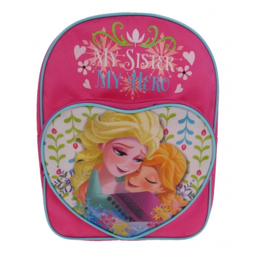 Disney Frozen My Sister Hero School Bag Rucksack Backpack