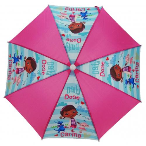 Doc Mcstuffins 'Sunny Days' School Rain Brolly Umbrella