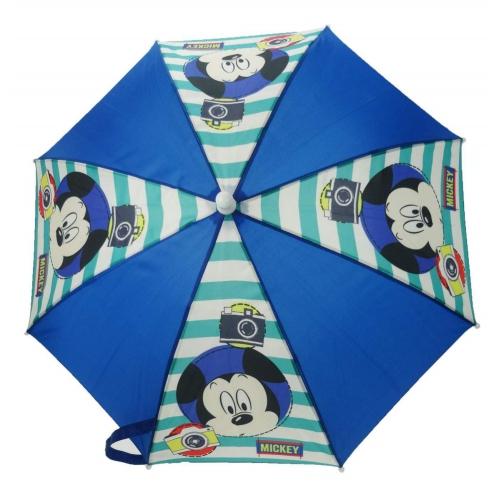 Disney Mickey Mouse 'Say Cheese' School Rain Brolly Umbrella