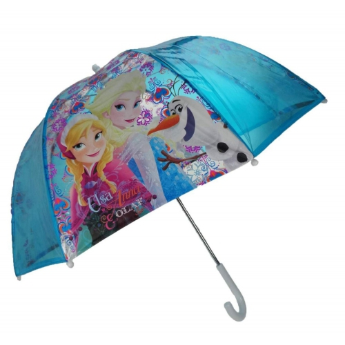 Disney Frozen 'Nordic Summer' Dome School Rain Brolly Umbrella
