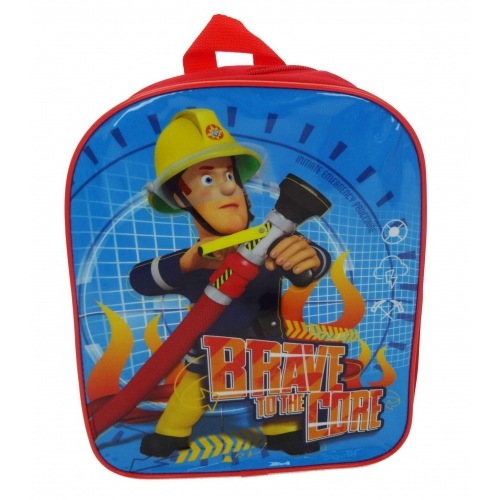 Fireman Sam 'Brave To The Core' School Bag Rucksack Backpack