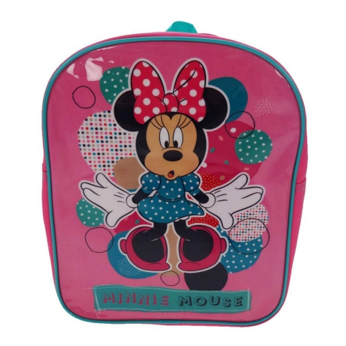 Disney Minnie Mouse 'Spots To Dots' Plain School Bag Rucksack Backpack