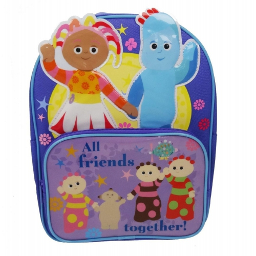 In The Night Garden Front Pocket School Bag Rucksack Backpack