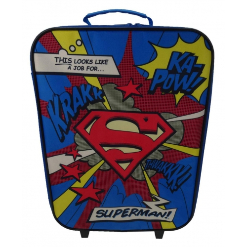 Dc Comics Superman 'Logo' Luggage Bag Set