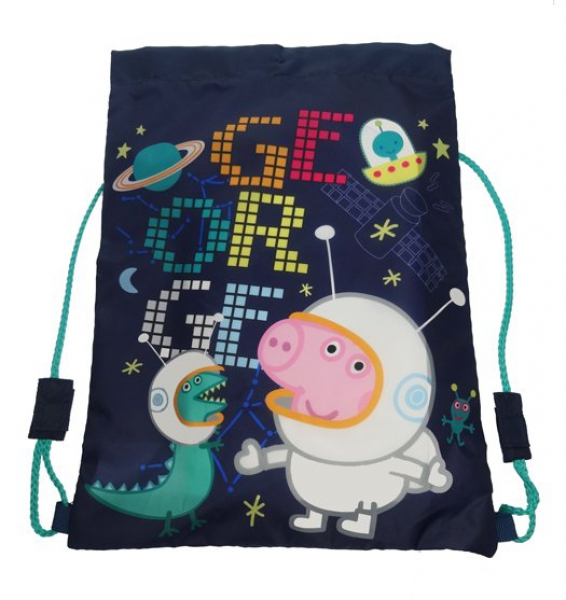 Peppa Pig George 'Astronaut' School Trainer Bag
