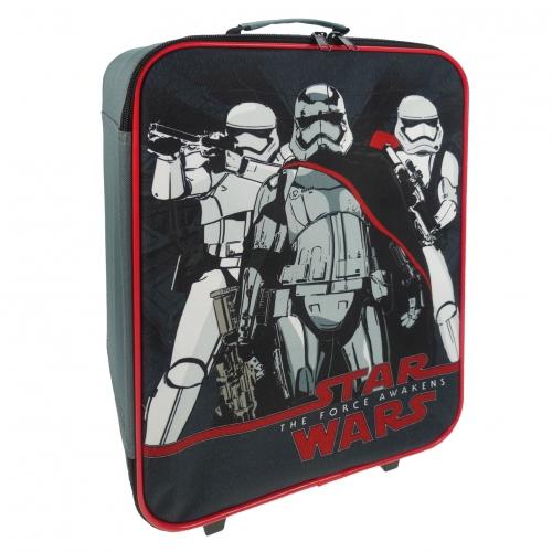 Star Wars 'Elite Squad' School Travel Trolley Roller Wheeled Bag