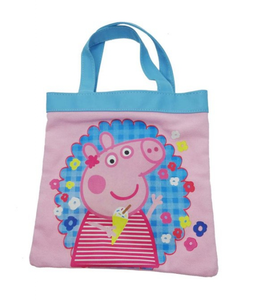 Peppa Pig 'Holiday' Mini Tote Bag Shopping Shopper