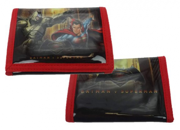 Batman vs Superman Junior Justice Wallet