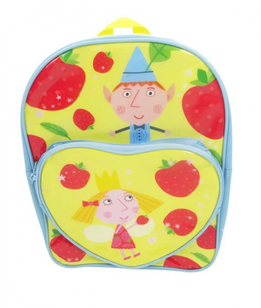 Ben and Holly 'Heart Pocket' School Bag Rucksack Backpack