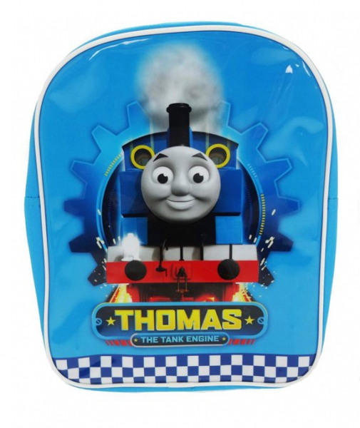 Thomas The Tank Engine 'Speed' Pvc Front School Bag Rucksack Backpack