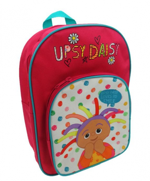 In The Night Garden 'Upsy Daisy' Arch Pocket School Bag Rucksack Backpack